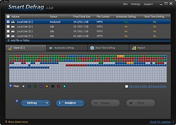obit smart defrag system utilities