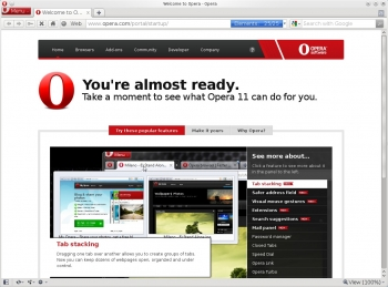 opera next 16 web browser