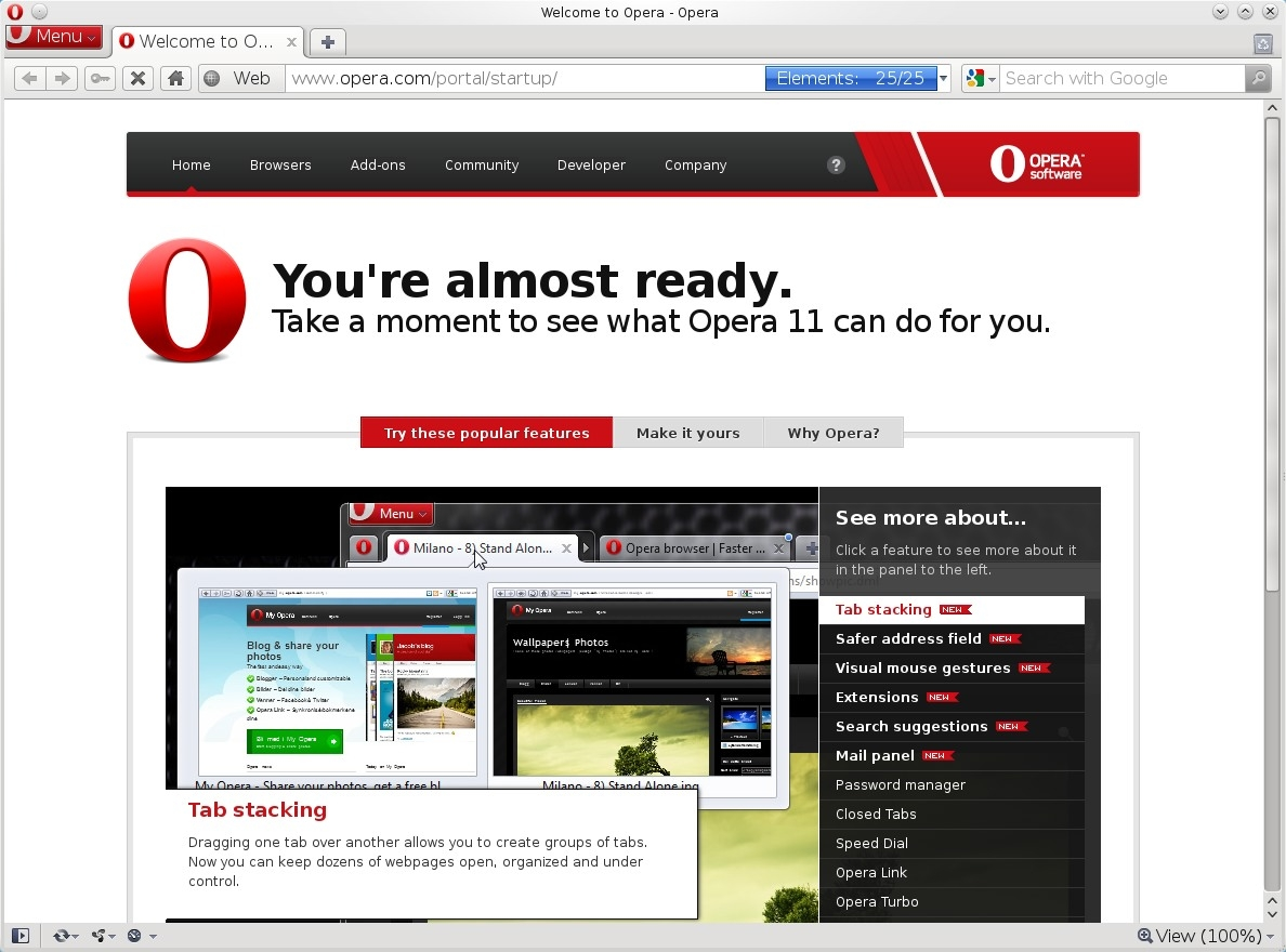opera next browser free download