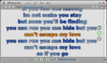 minilyrics 7 media player