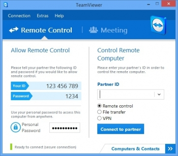 teamviewer 8 desktop sharing
