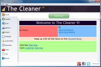 the cleaner 9 antispyware