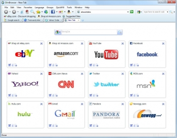 slimbrowser 7 web browser
