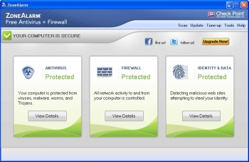 zonealarm free firewall v12
