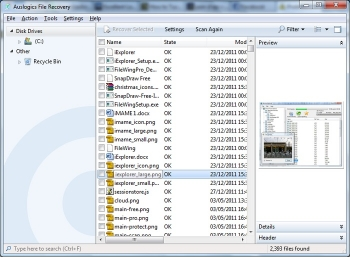 auslogics file recovery 4