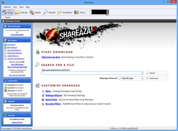 shareaza file sharing