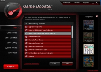 game booster 4 optimizer