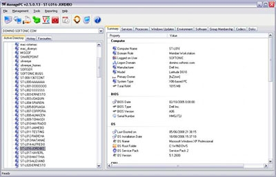 ManagePC v2 5 4 pc management tool | Download Free Software