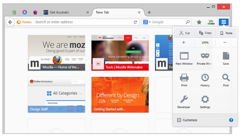 Mozilla Firefox 2014 Final free download